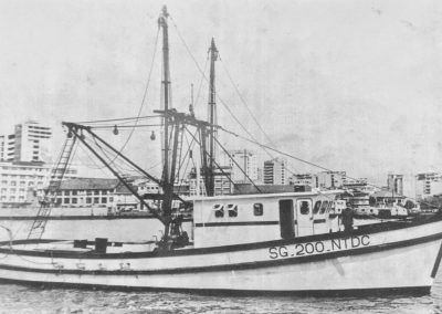 70 foot ferro-cement trawler1973 Saigon
