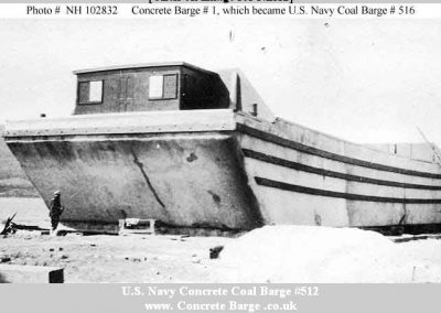 Concrete Coal Barge