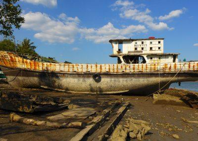 chinesischer Frachter