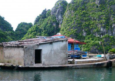 Wasser-Schiff-Vietnam